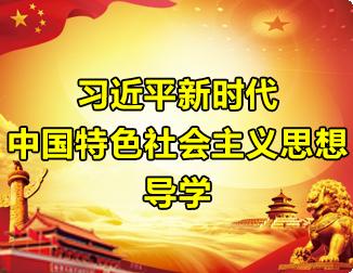 习近平新时代中国特色社会主义思想导学