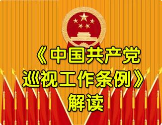 《中国共产党巡视工作条例》解读