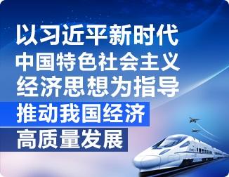 以习近平新时代中国特色社会主义经济思想为指导 推动我国经济高质量发展