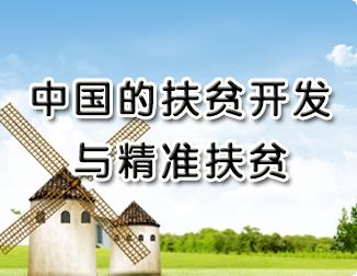 中国的扶贫开发与精准扶贫