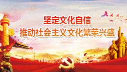 坚定文化自信 推动社会主义文化繁荣兴盛